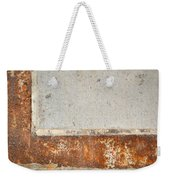 Carlton 14 - Abstract Concrete Wall Weekender Tote Bag