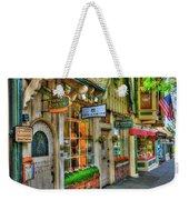Carmel, Ca. The Shops Of Ocean Ave. Weekender Tote Bag