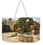 Carmel Church And Fountain Weekender Tote Bag