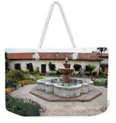 Carmel Mission Courtyard Weekender Tote Bag