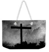 Carmel Mission Cross Weekender Tote Bag