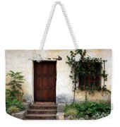 Carmel Mission Door Weekender Tote Bag