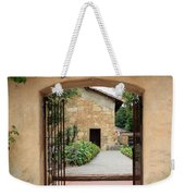 Carmel Mission Path Weekender Tote Bag