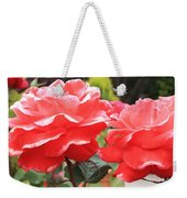 Carmel Mission Roses Weekender Tote Bag