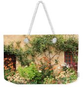 Carmel Mission Windows Weekender Tote Bag