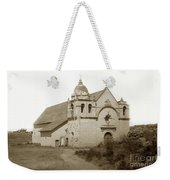 Carmel Mission  With The New Peaked Roof  1884 Weekender Tote Bag
