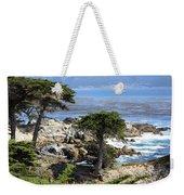 Carmel Seaside With Cypresses Weekender Tote Bag