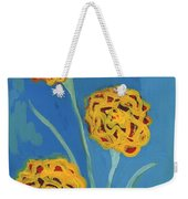 Carnations Against A Summer Sky Weekender Tote Bag