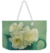 Carnations In A Jar Weekender Tote Bag