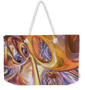 Carnival Abstract Weekender Tote Bag