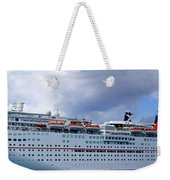 Carnival Cruise Ship Weekender Tote Bag