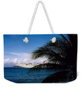 Carnival Docked At Grand Cayman Weekender Tote Bag