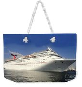 Carnival Inspiration Cruise Ship Weekender Tote Bag