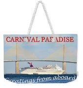 Carnival Paradise Custom Pc One Weekender Tote Bag