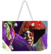 Carnival Personified Weekender Tote Bag
