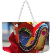 Carnival Red Duck Portrait Weekender Tote Bag