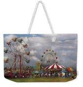 Carnival - Traveling Carnival Weekender Tote Bag by Mike Savad