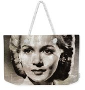 Carole Landis, Vintage Actress Weekender Tote Bag