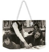 Carole Spandau Fine Art Teacher Darcy Mcgee Fine And Performing Art School Montreal Weekender Tote Bag
