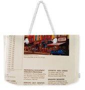 Carole Spandau Listed In Magazin'art Biennial Guide To Canadian Artists In Galleries 2009-2010 Edit Weekender Tote Bag