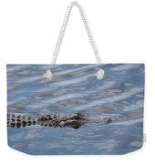 Carolina Beach Marina Alligator Weekender Tote Bag