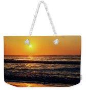 Carolina Beach Sunrise Weekender Tote Bag
