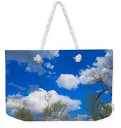 Carolina Blue Sky After The Rain Weekender Tote Bag