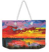 Carolina Sunset Weekender Tote Bag