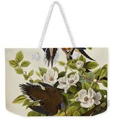 Carolina Turtledove Weekender Tote Bag by John James Audubon
