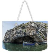 Caroline Cave And Maltese Traditional Boat Weekender Tote Bag