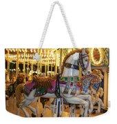 Carosel Horse Weekender Tote Bag