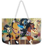Carousel Beauties Weekender Tote Bag