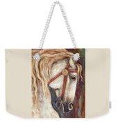 Carousel Horse Painting Weekender Tote Bag