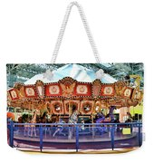 Carousel Inside The Mall Weekender Tote Bag