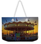 Carousel Sunset Weekender Tote Bag