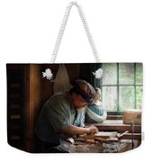 Carpenter - Carving The Figurehead  Weekender Tote Bag