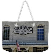 Carpenter Farm Supply Co Sign Weekender Tote Bag