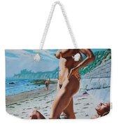 Carpenteria Nude Beach Weekender Tote Bag