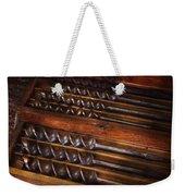 Carpentry - Tool - Archimedes Little Helper  Weekender Tote Bag