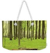 Carpeted Forest Weekender Tote Bag