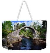 Carr Bridge Scotland Weekender Tote Bag