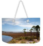 Carrabelle Salt Marshes Weekender Tote Bag