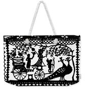 Carriage & Peacocks Weekender Tote Bag