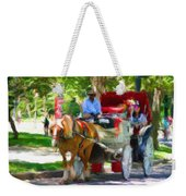 Carriage Colors Weekender Tote Bag