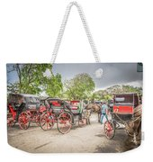 Carriages Weekender Tote Bag