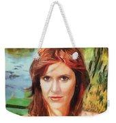 Carrie Fisher Weekender Tote Bag