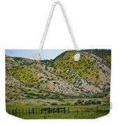 Carrizo Plain Daisy Hills Weekender Tote Bag