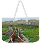 Carrizo Plain National Monument Ranch Weekender Tote Bag