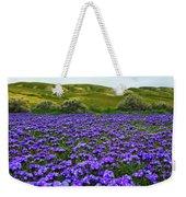 Carrizo Plain National Monument Wildflowers Weekender Tote Bag