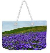 Carrizo Plain Phacelia Weekender Tote Bag